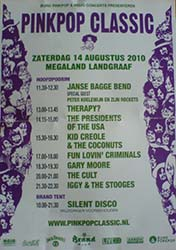 pusa at pinkpop classic festival 2010 - flyer