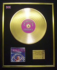 love everybody gold record