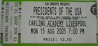liverpool academy 15th august 2005