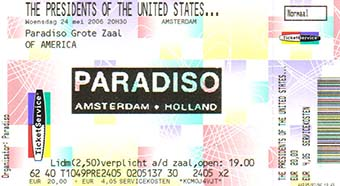 amsterdam paradiso 24th may 1996