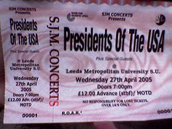 leeds met university 27th april 2005